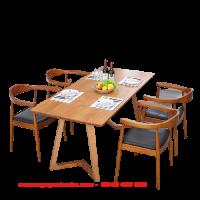bàn ghế gỗ phòng khách nhập khẩu