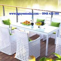 thanh lí bàn ghế nhôm