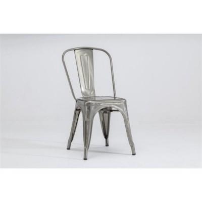 Ghế ăn màu bạc đặc biệt