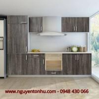 Thiết kế tủ bếp gỗ tự nhiên