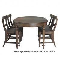 bàn ăn gỗ không ghế