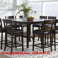 bàn ghế ăn gỗ cao cấp,