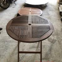 mẫu bàn ghế gỗ ngoài trời đẹp