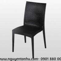 bàn ghế nhựa mây ngoài trời giá rẻ