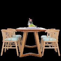 Bàn ghế gỗ ăn trong phong khách giá rẻ