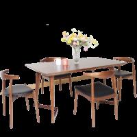 Bộ bàn ăn gia đình hiện đại