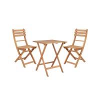 Bộ bàn ghế gỗ cafe ngoài trời