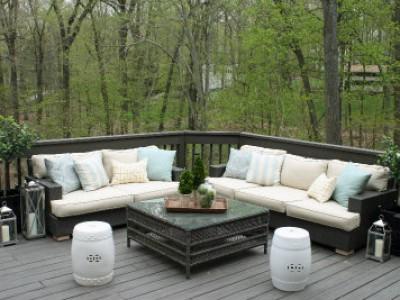 Sofa giả mây thân thiện với môi trường