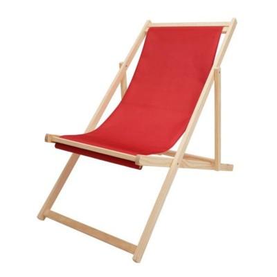 Ghế tựa lưng màu đỏ độc đáo