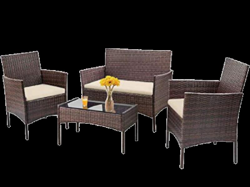 Bộ bàn ghế ngoài trời sang trọng