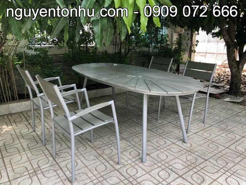 Bàn ghế nhôm giá rẻ, bàn ghế nhôm tp hcm, mẫu bàn ghế nhôm đẹp, thanh lí bàn ghế nhôm, báo giá bàn ghế nhôm, Bàn ghế nhôm ngoài trời, Phân phối bàn ghế nhôm tại tp hcm, Công ty bán bàn ghế nhôm tại tp hcm, bàn ghế nhôm xếp gọn tiện lợi, thanh lí bàn ghế nhôm inox giá rẻ, mua bàn ghế nhôm tại tphcm,