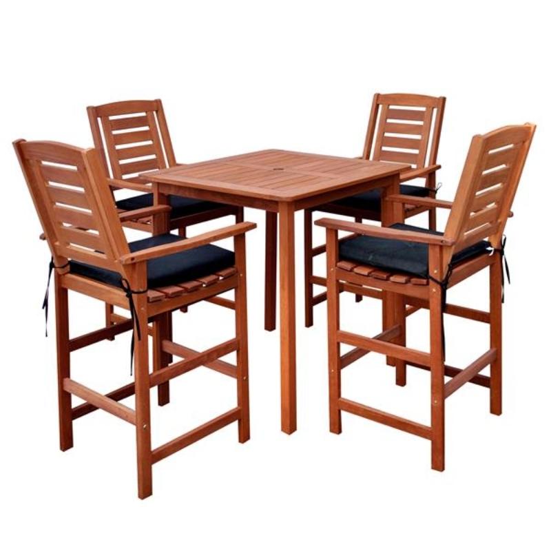 Bàn ghế ăn bằng gỗ tự nhiên