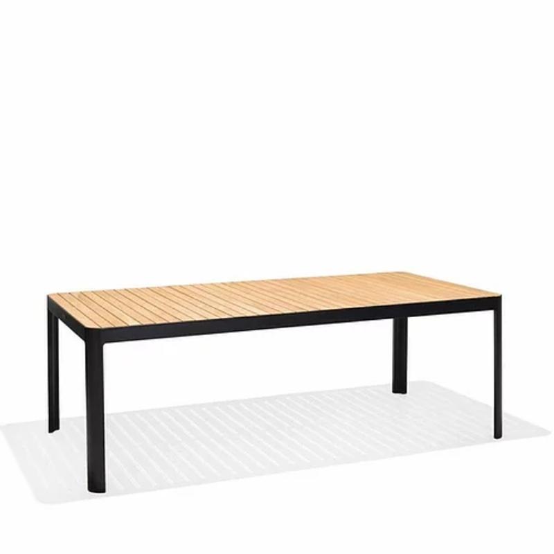 Bàn ghế  mặt gỗ  ngoài trời sang trọng Hiện đại