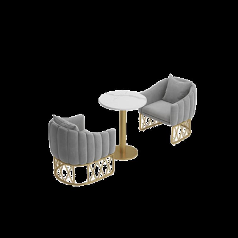 Mẫu bàn ghế khung sắt Châu Âu hiện đại giá rẻ