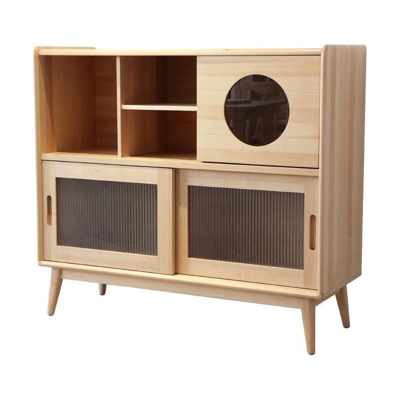 Tủ gỗ phòng khách đẹp giá tốt