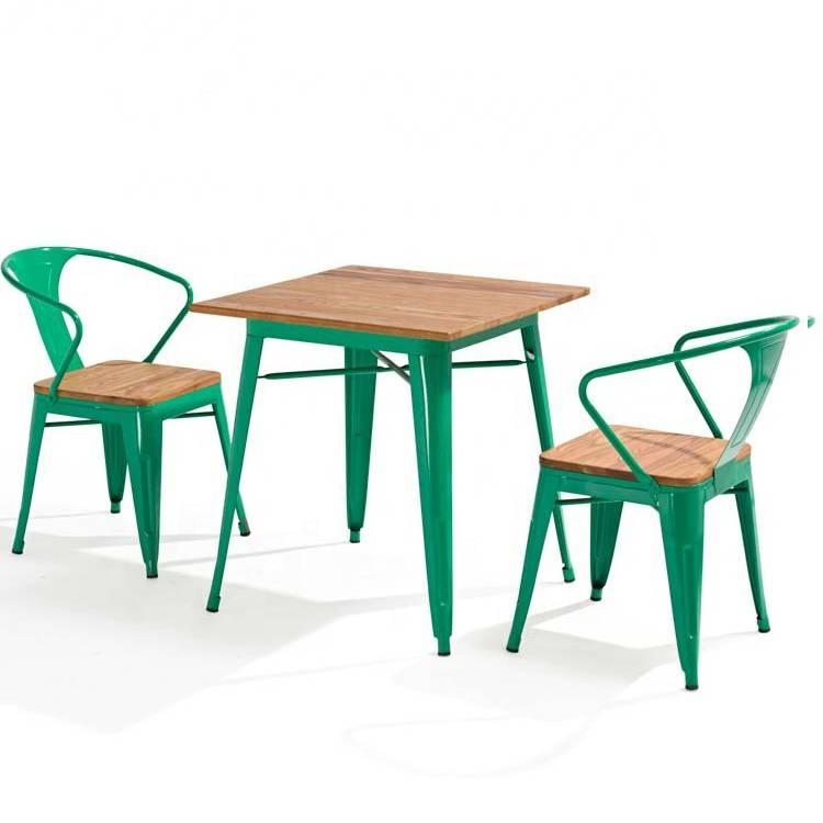Ghế khung nhựa kết hợp mặt gỗ đẹo giá rẻ