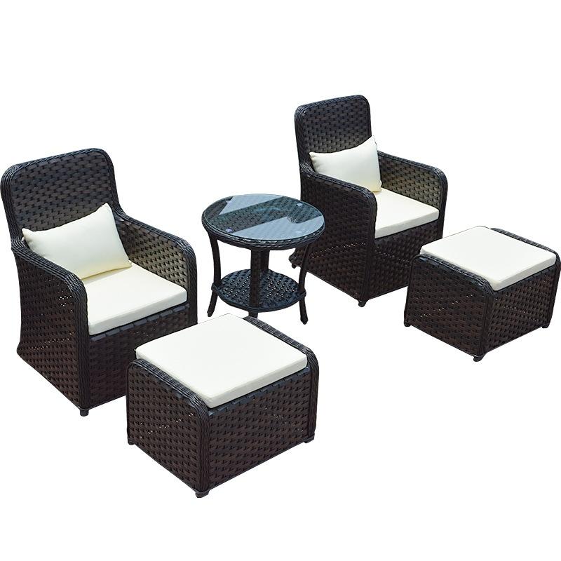 Bộ bàn ghế sofa phong cách nhựa mây hiện đại